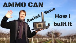 How I built my ammo can rocket stove – a small homemade wood stove (Mk II)