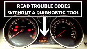 How to read fault codes without a diagnostic tool – Astra, Zafira, Corsa, Vectra, Meriva etc. (Pedal test)