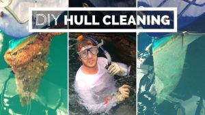 Underwater hull cleaning DIY