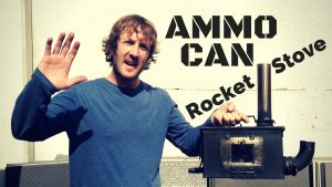 Ammo can rocket stove mk II