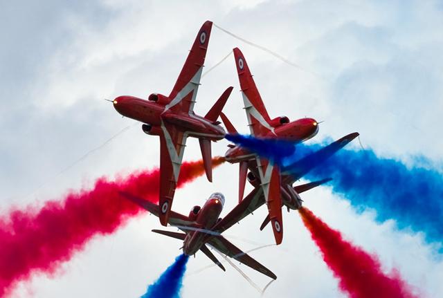 Aerobatic team red arrows