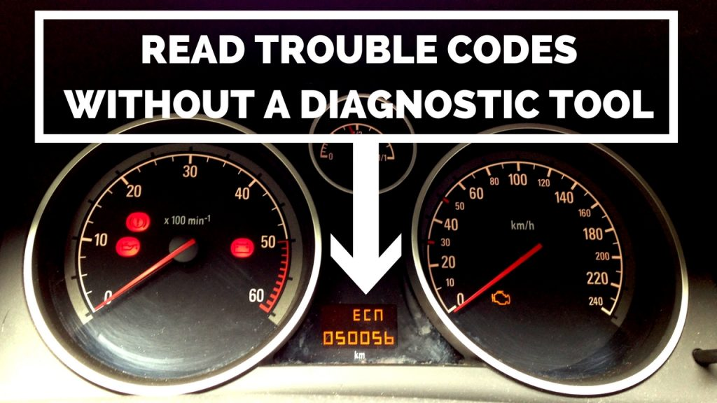 Read trouble codes WITHOUT a diagnostic tool