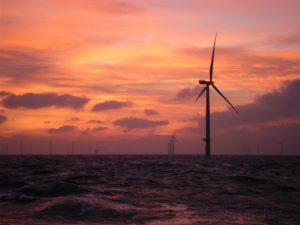 sunset offshore lancashire uk