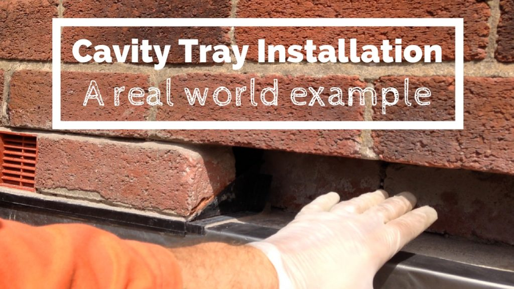Cavity Tray Installation DIY