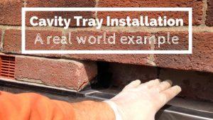 Cavity Tray Installation DIY
