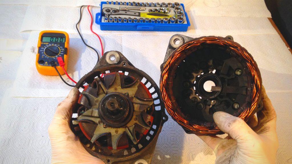 alternator troubleshooting repair